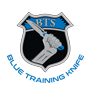 Blue Training Knife Logo